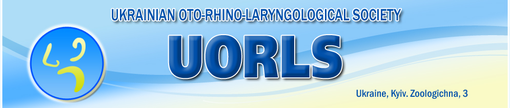 UKRAINIAN OTO-RHINO-LARYNGOLOGICAL SOCIETY